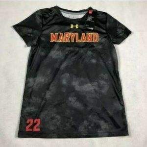 Women's Armour Maryland Terps Soccer Jersey NWT